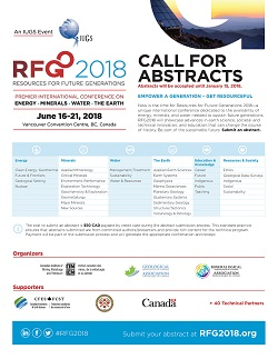 RFG 2018 - Resources for Future Generations 2018