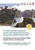 6th International Symposium of the International Geoscience Programme (IGCP) Project-589