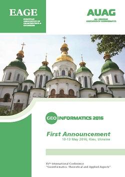 Geoinformatics 2016