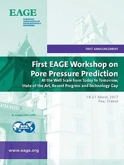 First EAGE Workshop on Pore Pressure Prediction