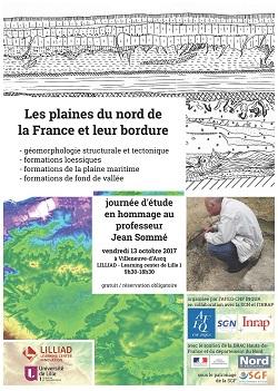 Journée AFEQ-SGN-INRAP - Les Plaines du nord de la France et leur bordure en hommage à Jean Sommé