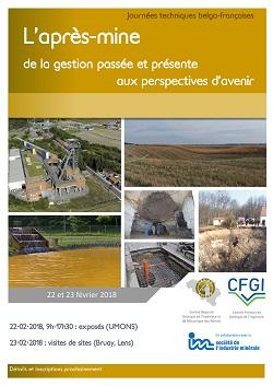 Journées techniques franco-belges : L\'après-mine de la gestion passée et présente aux perspectives d\'avenir