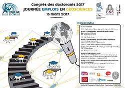 Congrès des doctorants - Journée emplois en Géosciences