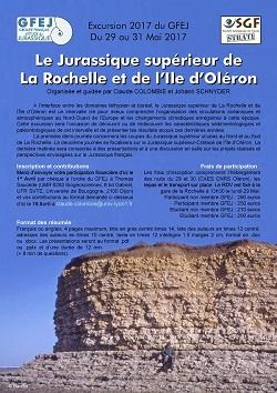 Le Jurassique supérieur de La Rochelle et de l\'Ile d\'Oléron - GFEJ & SGF Strati