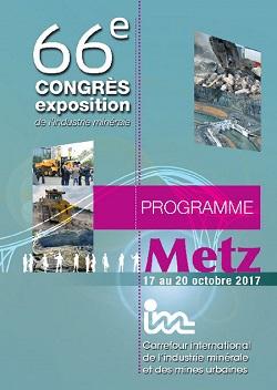 66ème Congrès exposition de l\'industrie minérale | SIM 2017