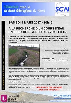 Promenades vertes de la MRES/SGN : A la recherche d'un cours d'eau en perdition : le Ru des Voyettes