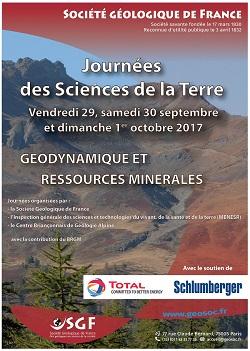 Journées des sciences de la Terre - Tectonique et Ressources Minérales