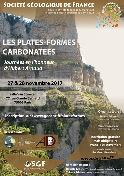 Les plates-formes carbonatées - Journées en l\'honneur d\'Hubert Arnaud