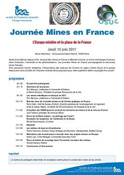 Journée Mines en France
