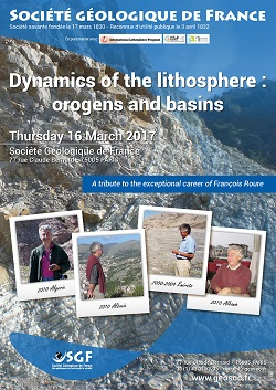 Dynamics of the lithosphere : orogens and basins