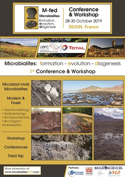 Microbialites: formation - evolution - diagenesis 1st Conference & Workshop