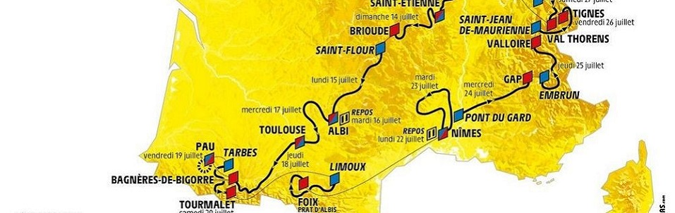 Retrouvez à partir du 06 juillet tous les commentaires géologiques du Tour de France lors des étapes