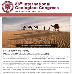 36th International Geological Congress (IGC)