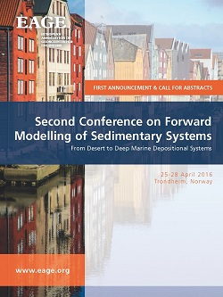 Second Conference on Forward Modelling of Sedimentary Systems