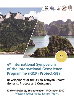 6th International Symposium of the International Geoscience Programme (IGCP) - Project-589